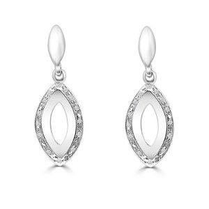 Pendientes oro con diamantes-Carrera Collection