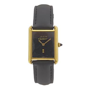 Reloj Cartier Modelo Must Tank Vermeil