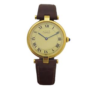 Reloj Cartier-Modelo Must Vermeil 925 Silver