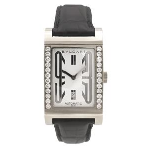 Reloj Bulgari - modelo Rettangolo 18k White Gold & Diamonds